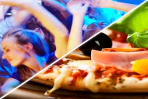 MENU PIZZA + DISCOTECA